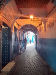 The Old Medinah in Tangier, Morocco. Photo courtesy Mary Sloan.